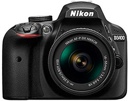 Nikon D3400 APS-C entry-level
